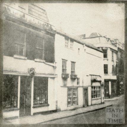Barton Street, St. John's Court, demolished 1960