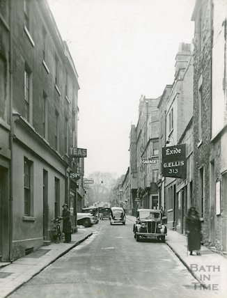 Barton Street, looking North, c.1930s