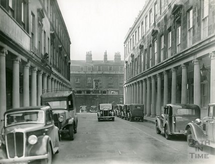 Bath Street, looking towards Cross Baths, c.1930s