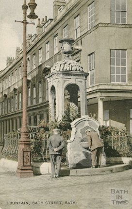 Bath Street Mineral Fountain, c.1910s