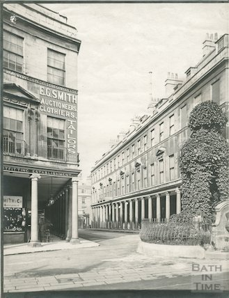 Bath Street from Stall Street, Bath c.1903