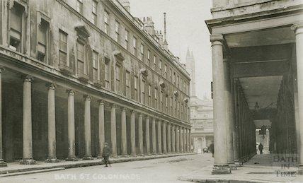 Bath Street, Colonnade, c.1930