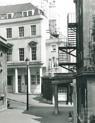 Bath Street, as seen from Westgate Buildings, 1974