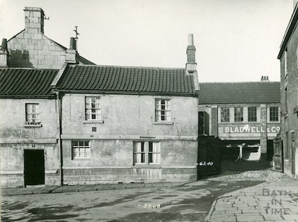 Broad Quay, Bladwell's Entrance, 1937