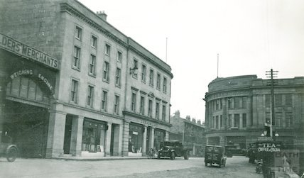 View from Broad Quay towards Dorchester Street, c.1930s
