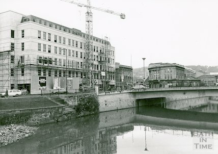 Broad Quay new development, December 1972