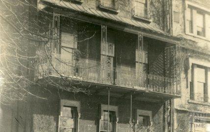 Brock Street Balcony, c.1920s