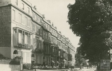 Cavendish Place, Viner and Co. postcard, c.1915