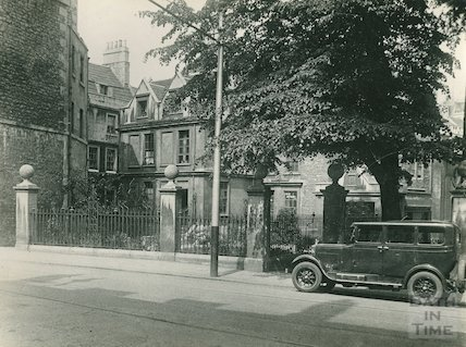 Chapel Court, St Michael's Hospital, view from Westgate Buildings, c.1930s
