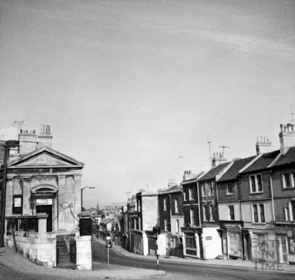 Claverton Street and St Marks Road, April 1965