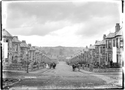 Kipling Avenue, Bear Flat, looking down c.1910