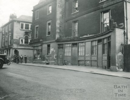114-116 Walcot Street Curved Shop front, c.1930s