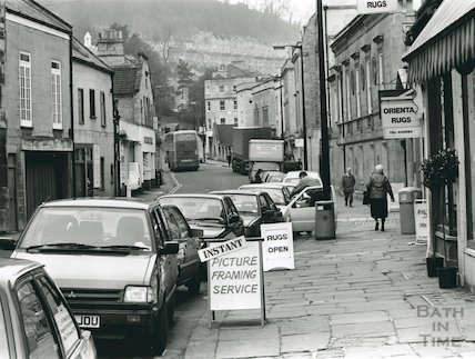 Walcot Street (looking towards London Road), 1992