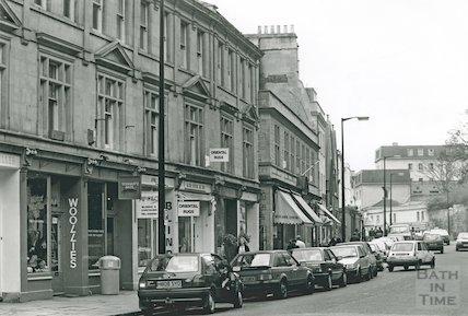 Walcot Street (Looking towards Northgate Street), 1992