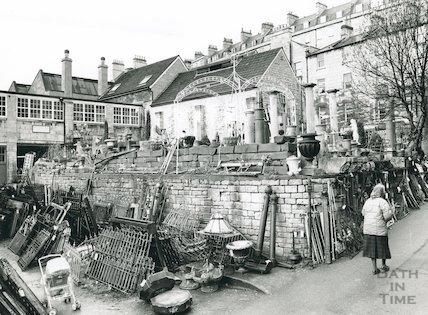 Walcot Street Reclamation Yard, 1992