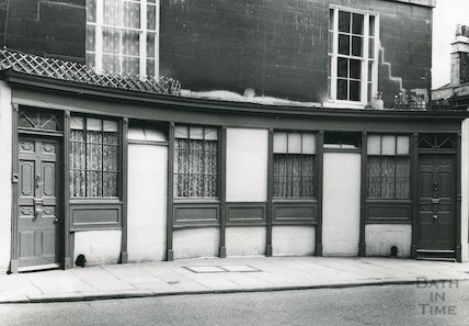 114-116 Walcot Street Curved Shop front, c.1960s