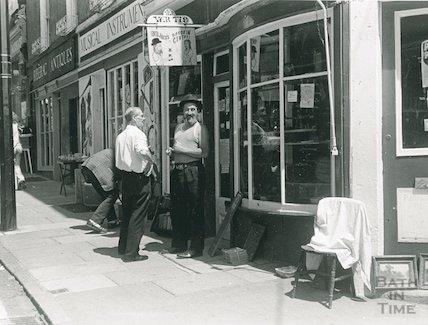 Old Jack's Bargain Centre, Walcot Street, 1975