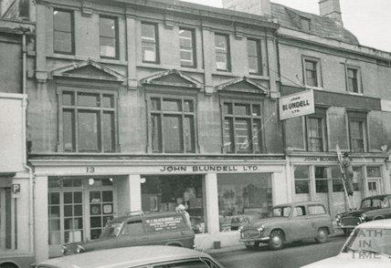 John Blundell Ltd, 13-15 Walcot Street, Bath, 1969
