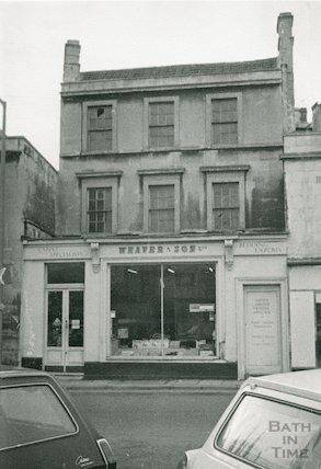 Weaver & Son, 3 Walcot Street, 1969