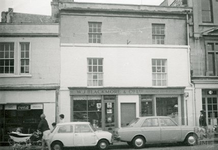W.J. Blackmore, 9 Walcot Street, 1969