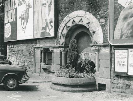 Drinking Fountain, Ladymead, 1969
