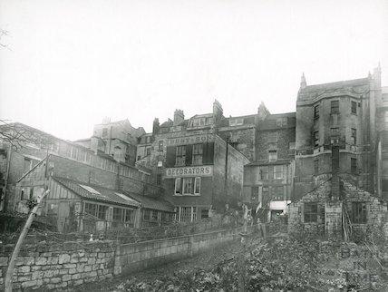 Rear of 26 Walcot Street, Best & Sons, Decorators, Bath, c.1930