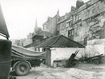 Back of Walcot Street, c.1930s
