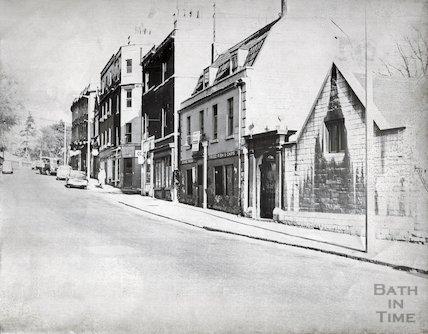 Walcot Street, N.E. end, 1965