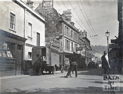 The Saracen's Head, Walcot Street, Bath c.1930