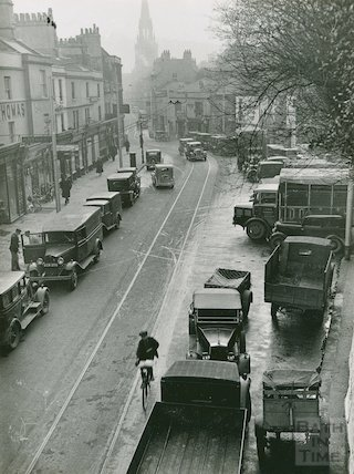 Walcot Street looking south, c.1930