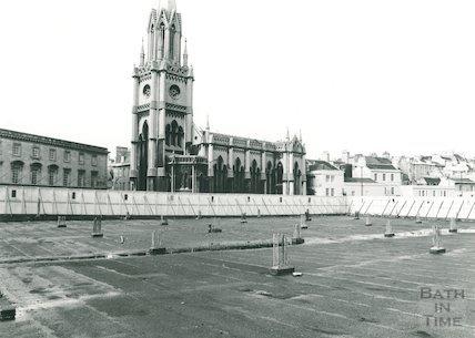 Walcot Street by Beaufort Hotel, 1981
