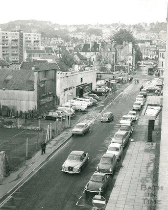 View down Avon Street, 1969