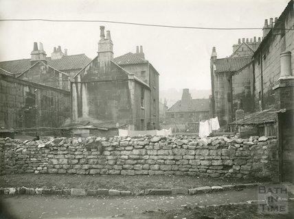 Rear of Avon Street and Milk Street, c.1930