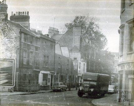 Avon Street demolition in progress, 1965