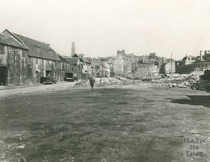 Avon Street post war dereliction, c.1950s?