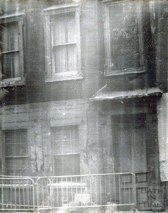 85 Avon Street awaiting demolition, 1965