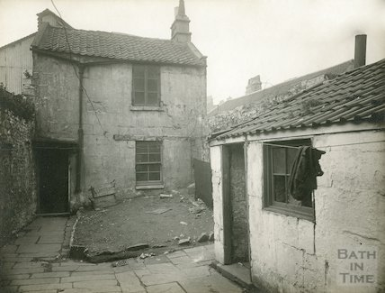 Rear of 49 Avon Street, c.1930
