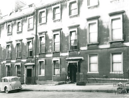 19 Bennett Street, former home of Admiral Phillip, first Governor of New South Wales, Australia, November 1947