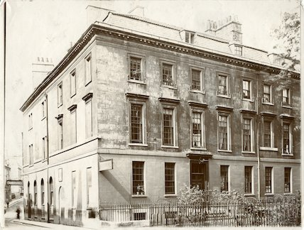 Chandos House, Chandos Buildings, Bath c.1903