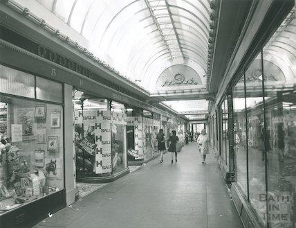 The Corridor, Bath, 1974