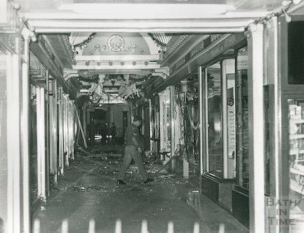 After the ira bomb blast in the corridor bath 1974 by 39043 at after the ira bomb blast in the corridor bath 1974 sciox Images