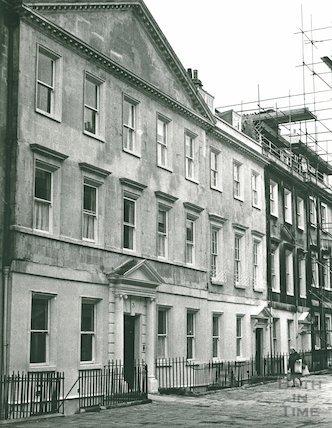 Duke Street, Wessex House, November 1972