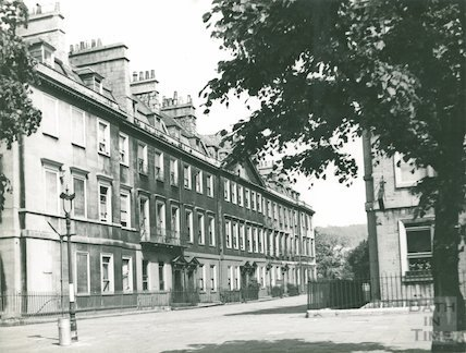Duke Street, West side from South Parade, c/1950s?