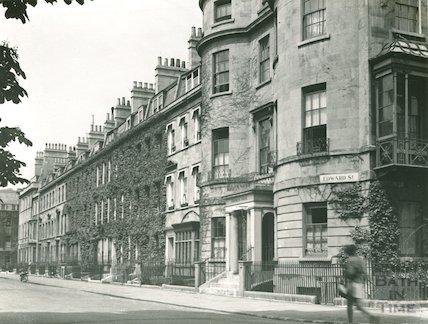 Edward Street, East Side from the corner of Vane Street, c.1960s