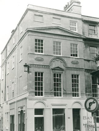 1 Northumberland Buildings, Wood Street, Bath, 1978