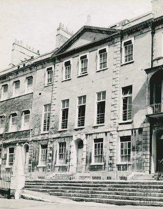 Portland Place, Bath, 1941