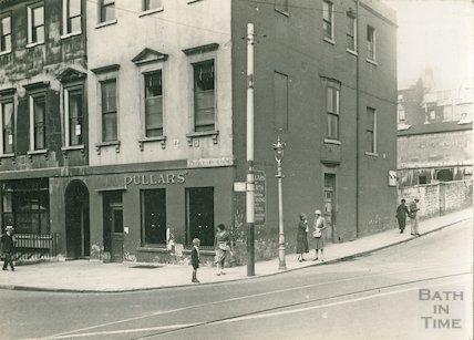 Prince's Buildings, George Street (corner of Lansdown Road), c.1930