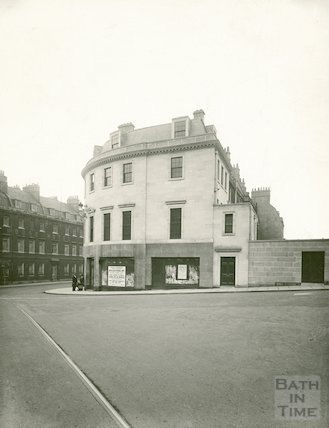The new eastern end to Princess Buildings, George Street, 1936