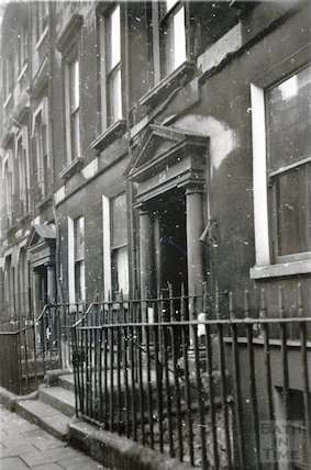 23 Rivers Street with torch extinguisher, 20th November 1945