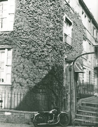 Widcombe Terrace, Bath, c.1950s